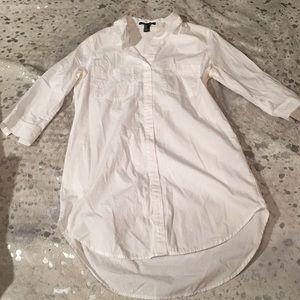 F21 shirt dress